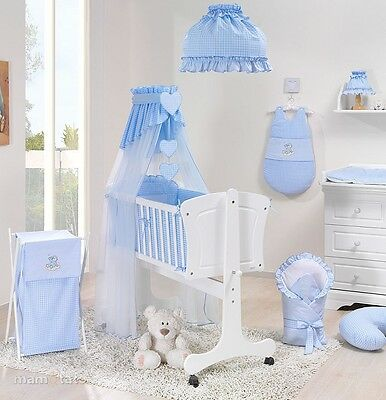 Lovely canopy drape holder 4 baby crib cradle cot for Drape stand for crib