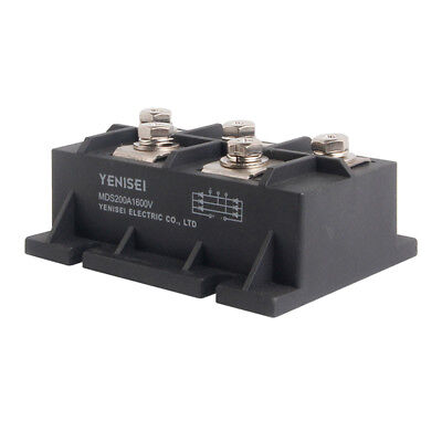 Bridge Rectifier 3ph 200A 1600V MDS200A diode 3 phase 200 amp 1600 volt 1 PC