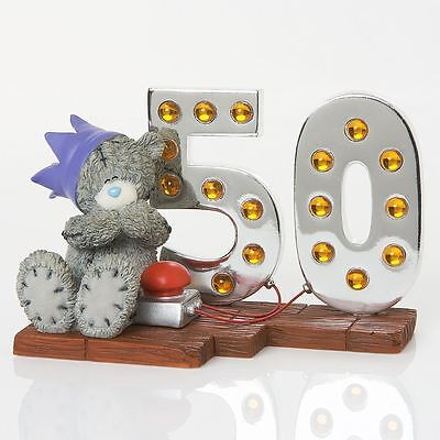 Me To You - Light Up At 50 Figurine - Mint - New - Boxed - 41248