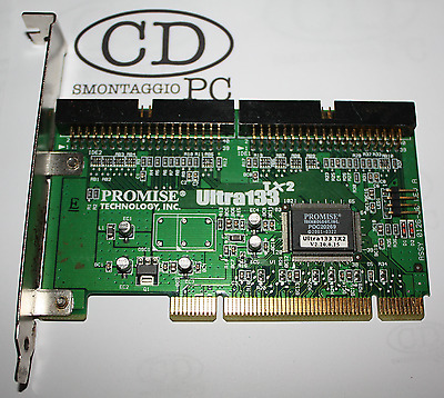 Controller PCI IDE Promise ULTRA 133 tx2 2xide UDMA 40 4 Pol xdrives pdc20269