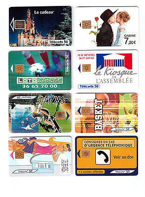Phone Cards, Lot Of 8 Different !!2