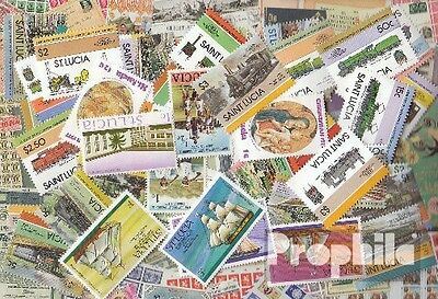 St. Lucia 50 different stamps