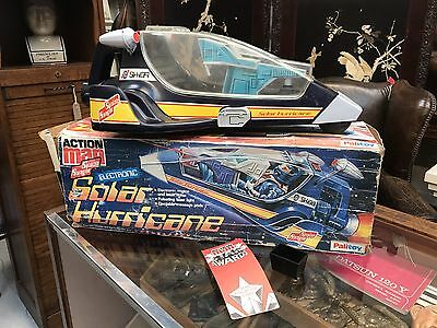"""Boxed Early Action Man """"Space Ranger"""" Solar Hurricane Ship. Open To Offers."""