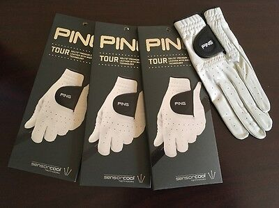 Ping Golf Tour Glove Men's Left Hand - Right Hand Golfer 3-Pack
