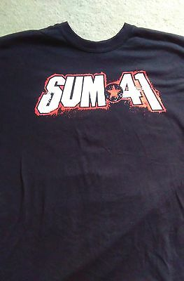 Sum 41  tour shirt 2017.Size Large.
