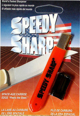 Speedy Sharp Carbide Knife Sharpener - ORANGE