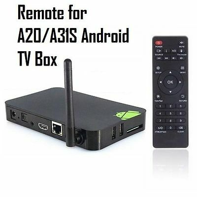 Genuine A20/A31s Android TV box Remote Control unit