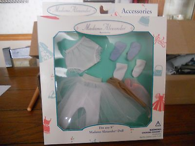 """Madame Alexander 8"""" Doll Lingerie Accessory Pack New In Box 1999 #mx17680"""