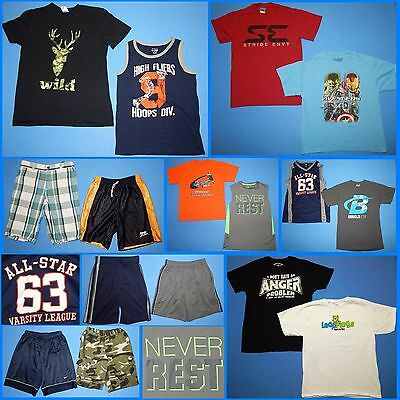 16 Piece Lot of Nice Clean Boys Size 14 Spring Summer Everyday Clothes ss302
