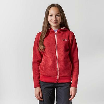 Pink Peter Storm Girls' Fred Ii Hoody Outdoor Clothing One Colour