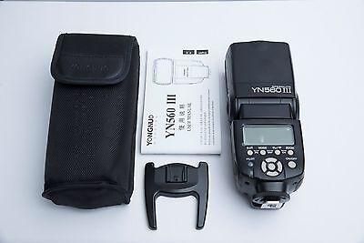 Yongnuo YN-560 III Speedlite Shoe Mount Flash for Canon/Nikon