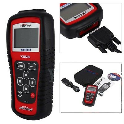 Car Code Reader OBDII EOBD Diagnostic Scanner Tool Tester Garage Equipment New