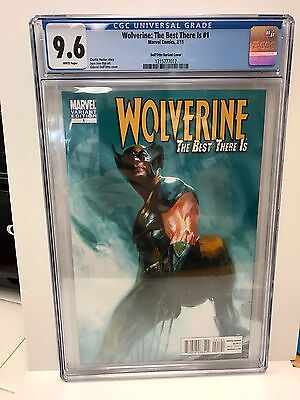 Wolverine: The Best There Is #1 CGC 9.6 Marvel Comics 2011 OLD MAN LOGAN **
