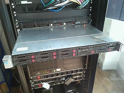 HP Proliant DL360p Gen8 2x Xeon 8+8=32 Core E5-2650 2Ghz 56Gb Ram DDR3 & Rail