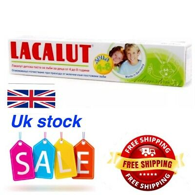Medical Toothpaste Lacalut White Edelweiss For Fresh Breath 75 ml Germany