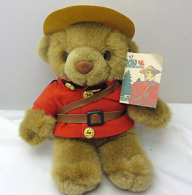 Canada  Mounties Bear Royal Canadian Mounted Police RCMP  plush  wild wonders