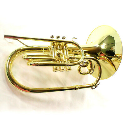 King 'Ultimate' Pro Model 1121 Marching Mellophone MINT CONDITION QuinnTheEskimo