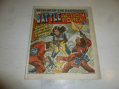 BATTLE ACTION FORCE Comic - Date 12/07/1986 - UK Paper Comic