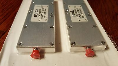 Narda FSCM 99898 4372A-3 Power Splitter / Combiner 3-Way SMA Female Connections