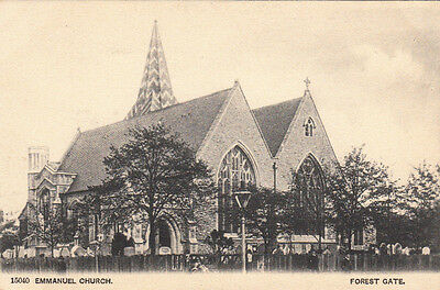 CPA ANGLETERRE ENGLAND FOREST GATE emmanuel church