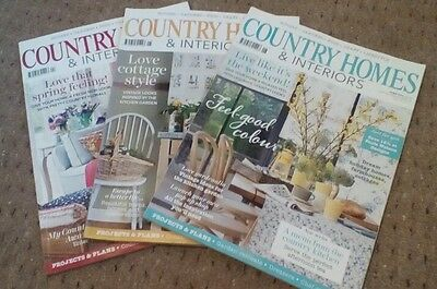 3 Copies Country Homes and Interiors Magazine Apr May Jun 2014