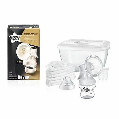 Tommee Tippee Milchpumpe Closer to Nature Handmilchpumpe