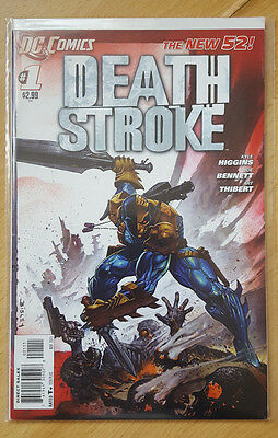 DC Comics New 52 Deathstroke #1 1st Print - Bagged and boarded