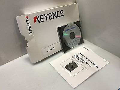 Keyence KV-KIT 5 Ladder Builder Program Software For KV Series PLC *See Details
