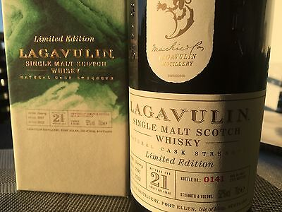 *AKTIONSPREIS* Lagavulin 1991 21 Years Islay Single Malt Whisky 52,0% 1/2772