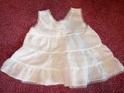 EUC Vintage Infant Girls Size 9 month FULL SLIP Cotton Blend EUC