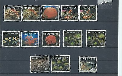 Singapore stamps. 1994 - 1997 Reef Life lot used. (Y073)