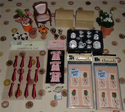 Dolls House Assorted Mixed Lot – Set 3 -  Brand New Unused Extras