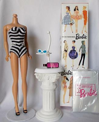 Barbie 35th Anniversary Swimsuit Fashion With Box Stand 1994