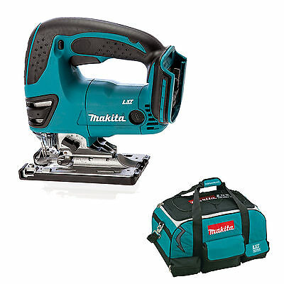 Makita 18V Lxt Djv180 Djv180Z Djv180Rfe Jigsaw And 4 Piece Bag