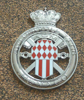 Automobile Club Monaco Car Grille Badge  - Acm