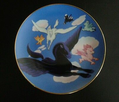 Disney Celebrating Fifty Years of Fantasy FANTASIA Pegasus Collector Plate