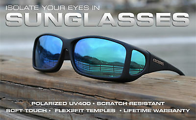 Cocoons OveRx Fit Over Spectacle Glasses Eyewear Sunglasses Polarized UV