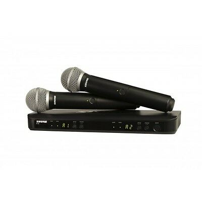 Shure BLX288/PG58 Dual Handheld Wireless PG58 Microphone System