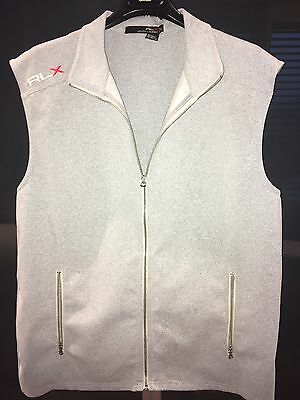 RLX GILET •Ralph Lauren•  FULL ZIP ! Soft Shell, Tecnico, Antivento, COME NUOVO!