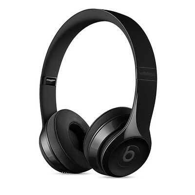 Beats By Dre Solo3 Wireless Bluetooth Headphones Gloss Black