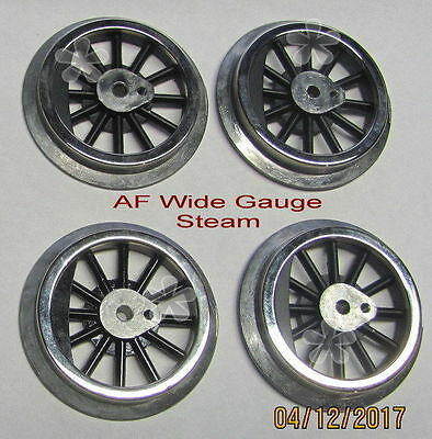 American Flyer Wide Gauge Drive Wheels, Steam set, repro, NEW