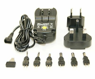 Ex-Pro® AC/DC Multi Voltage Mains Adapter Switchmode Power Supply, 12v 1000mA