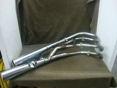 82 Suzuki Gs 1100 L Gs1100L Exhaust, Mufflers, Headers (Needs Repaired) #ye25