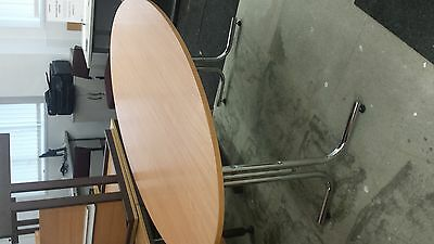 Oval board room table . job lot , lots of office furniture