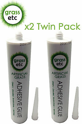2x Artificial Grass Adhesive Glue Astro Turf Lawns Astroturf Joint Seam Joining