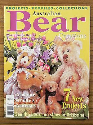 Australian Bear Creations - Volume 6 No.6 Teddies Fairy Folk Art 2001