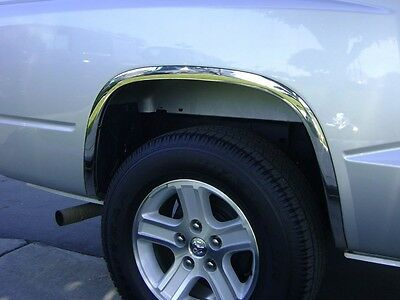 2005-2014 Dodge Dakota (without OEM Flares) [STAINLESS STEEL FENDER TRIM]