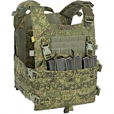 "ANA Tactical Russian Vest Plate Carrier ""M2"" for FSB Units in EMR Digital Flora"