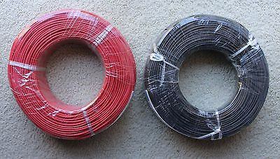 100 meters Silicone Wire Soft and Flexible High Temp Strands of Tinned Copper