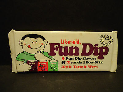 Vintage Lik m Aid Candy Fun Dip Fridge Magnet